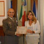 Esercito Italiano - Sara con Generale giuseppenicola TOTA